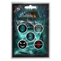 Disturbed - Evolution (Badge Pack)