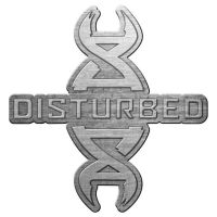 Disturbed - Red DNA (Metal Pin Badge)