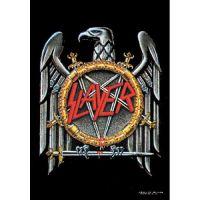 Slayer - Silver Eagle (Textile Poster)