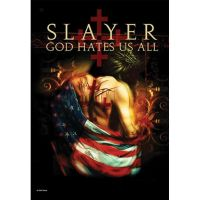 Slayer - God Hates Us All (Textile Poster)