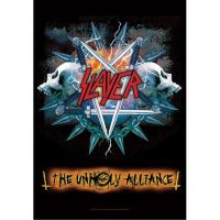 Slayer - The Unholy Alliance (Textile Poster)