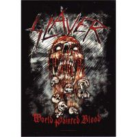 Slayer - World Painted Blood (Textile Poster)