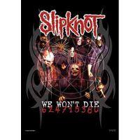 Slipknot - We Won't Die (Textile Poster)