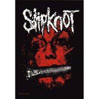 Slipknot - Zipperface (Textile Poster)