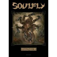 Soulfly - Conquer (Textile Poster)