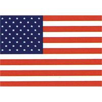 USA Stars And Stripes (Textile Poster)