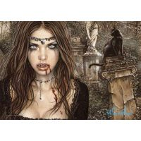 Victoria Frances - Felina Vampire (Textile Poster)