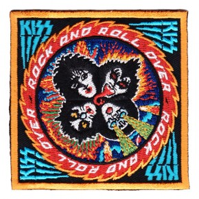 Kiss - Rock N Roll Over Embroidered (Patch)