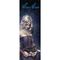 Victoria Frances - Angel De La Muerte (Textile Door Poster)