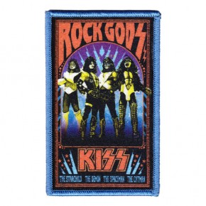 Kiss - Rock Gods Embroidered (Patch)