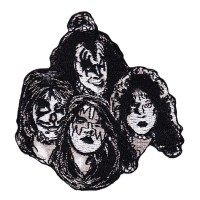 Kiss - Faces Embroidered (Patch)