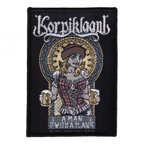 Korpiklaani - A Man With A Plan (Patch)