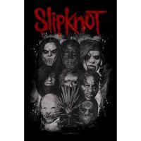 Slipknot - Masks (Textile Poster)