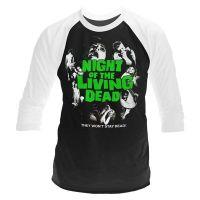 Night Of The Living Dead - Night Of The Living Dead (Long Sleeve Baseball Shirt)