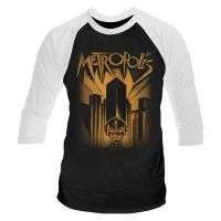 Metropolis - Metropolis (Long Sleeve Baseball Shirt)