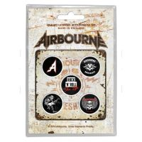Airbourne - Boneshaker (Badge Pack)