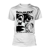 Discharge - Hear Nothing White (T-Shirt)