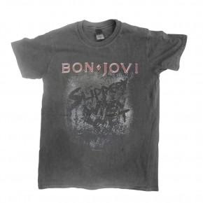 Bon Jovi - Slippery When Wet Vintage Wash (T-Shirt)