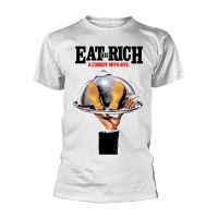 The Comic Strip Presents - Eat The Rich White (T-Shirt)