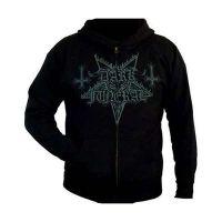 Dark Funeral - Grey Logo (Zipped Hooded Sweatshirt)
