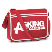 Asking Alexandria - Logo Red (Messenger Bag)