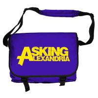 Asking Alexandria - Yellow Logo (Messenger Bag)