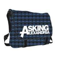 Asking Alexandria - Allover Deluxe (Messenger Bag)