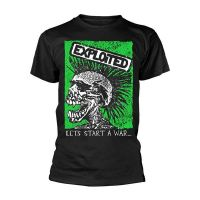 The Exploited - Lets Start A War Green (T-Shirt)