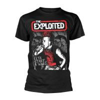 The Exploited - Lets Start A War Live (T-Shirt)