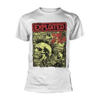 The Exploited - Punks Not Dead White (T-Shirt)