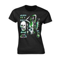 Alien Sex Fiend - Dead And Buried (Girls T-Shirt)