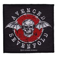 Avenged Sevenfold - Distressed Death Bat (Patch)