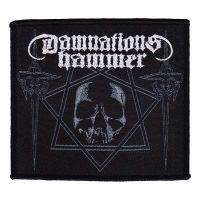 Damnations Hammer - Hammers & Skull (Patch)