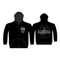 Marduk - Black Metal War Machine (Zipped Hooded Sweatshirt)