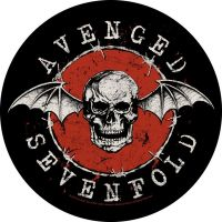 Avenged Sevenfold - Distressed Skull (Backpatch)