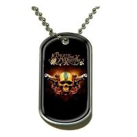 Bullet For My Valentine - Two Pistols (Pendant Dog Tag)