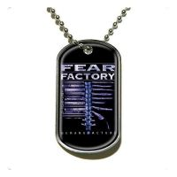 Fear Factory - Demanufacture (Pendant Dog Tag)