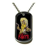Iron Maiden - Killers (Pendant Dog Tag)