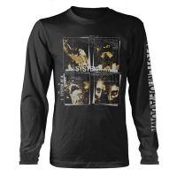System Of A Down - Face Boxes (Long Sleeve T-Shirt)