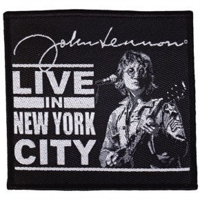 Lennon, John - Live In NYC (Patch)