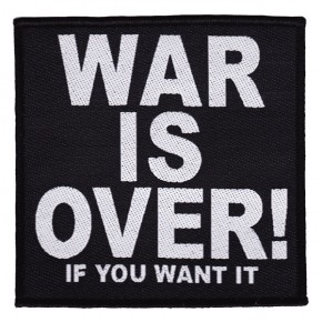 Lennon, John - War Is Over (Patch)