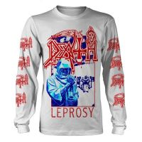 Death - Leprosy Blue & Red (Long Sleeve T-Shirt)