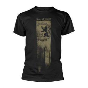 Game Of Thrones - Lannister Flag Hear Me Roar (T-Shirt)