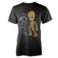 Marvel Guardians Of The Galaxy Vol 2 - I Am Groot Scribbles (T-Shirt)