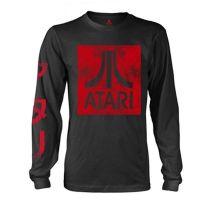 Atari - Box Logo Black (Long Sleeve T-Shirt)