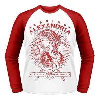 Asking Alexandria - Snake (Baseball Shirt)