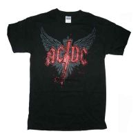 ACDC - Wings Logo (T-Shirt)