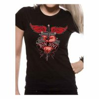 Bon Jovi - Heart & Dagger 2 (Girls T-Shirt)