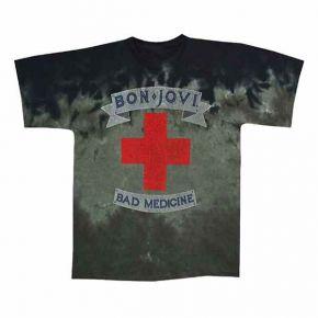 Bon Jovi - Bad Medicine Tie Dye (T-Shirt)